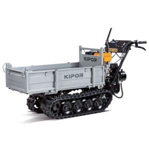 MINITRASPORT CINGOLATO MOTO CARRIOLA DUMPER RIB MANUALE 500 KG KIPOR KGFC 500H