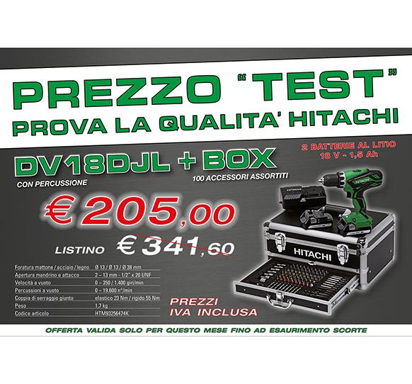 Prezzo test DV18DJL + BOX